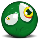 Emotion, Face, Emoticon ForestGreen icon