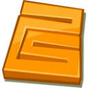space DarkOrange icon