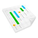 graph, chart, gant, project, plan WhiteSmoke icon