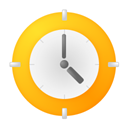 time, Clock, history, alarm clock, Alarm Orange icon