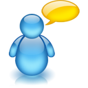 talk, Comment, Chat, speak SteelBlue icon