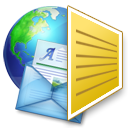 Email, mail, Letter, Message, envelop Goldenrod icon