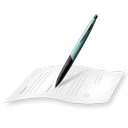 File, write, document, Edit, Text, writing WhiteSmoke icon
