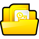 outlook, microsoft Gold icon
