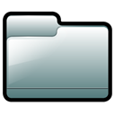 generic, silver, Folder Black icon