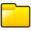 generic, Folder, yellow Gold icon