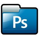 photoshop, Ps, adobe DarkCyan icon