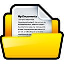 paper, File, document, my document Gold icon