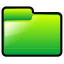green, Folder, generic LimeGreen icon