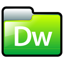 adobe, dreamweaver Black icon