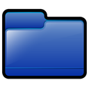 Folder, generic, Blue SteelBlue icon