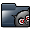 bat, Folder DarkSlateGray icon