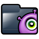 Folder, Alien DarkSlateGray icon