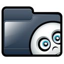 Folder, Ghost DarkSlateGray icon