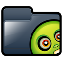 slimer, Folder DarkSlateGray icon