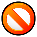 aware, Ad OrangeRed icon