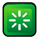 Reboot, restart, window ForestGreen icon