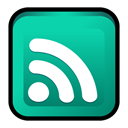 Newsfeed, Atom LightSeaGreen icon