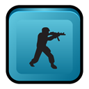 deleted, Strike, scene, Counter SteelBlue icon