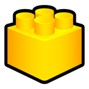 Designer, Toy, Lego Gold icon