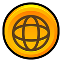 Norton, security, internet Orange icon