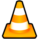 player, Vlc, media Black icon