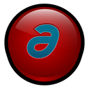 Mx, macromedia, Authorware DarkRed icon