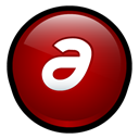 Authorware, macromedia DarkRed icon