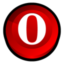 Opera, Browser Red icon