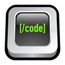 web, Coding Black icon