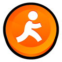 express, Aim DarkOrange icon