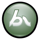 Breeze, macromedia Black icon