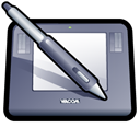wacom, Intuos Black icon