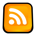 Rss, Newsfeed, subscribe, feed Orange icon