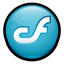 macromedia, Coldfusion LightSeaGreen icon
