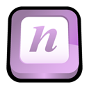 microsoft, office, onenote Plum icon