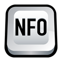 Nfo, sighting Black icon