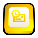 office, microsoft, outlook Gold icon