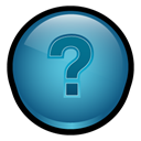 Mx, robohelp, question mark, macromedia SteelBlue icon