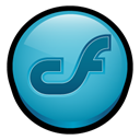 Mx, macromedia, Coldfusion LightSeaGreen icon