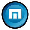 maxthon Black icon