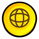 security, Norton, internet Gold icon