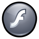 macromedia, Flash, player DimGray icon