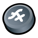 flex, macromedia Black icon