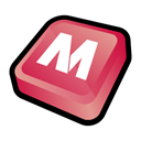 Mcafee Black icon