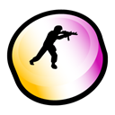 Counter, Strike, Source Black icon