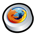 Browser, mozilla, Firefox Black icon