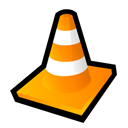 player, media, Vlc Black icon
