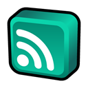 Newsfeed, Atom Black icon