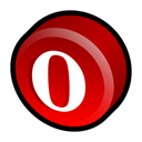 Browser, Opera Black icon